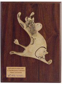 Złotą Mleczną Rewię otrzymał Ser Filipekna 11. Targach Mleczna Rewia 2008.