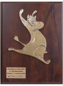 Złotą Mleczną Rewię otrzymało Masło Tradycyjne na 12. Targach Mleczna Rewia 2009.