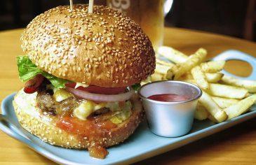 Cheesburger wołowy